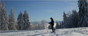 schöne schneeschuhtouren jura